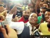 محمد رمضان في العرض الخاص لجواب اعتقال