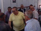 مصطفى أبو زيد رئيس مصلحة الميكانيكا