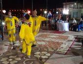 محافظ بنى سويف يشارك المواطنين فرحتهم بالعيد بنادي الإدارة المحلية