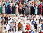 صلاة عيد الفطر المبارك فى المغرب