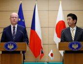 رئيس الوزراء اليابانى يلتقى نظيره التشيكى