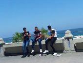 الشباب على كوريش الاسكندرية
