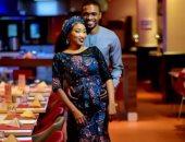 معروف يوسف مع زوجته