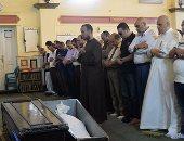 جنازة والد عمرو سلامة