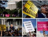 مظاهرات ضد الرئيس الأمريكى دونالد ترامب