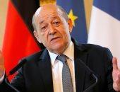 وزير الخارجية الفرنسية لودريان