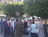 تجمهر الجزارون أمام مبنى المحافظة