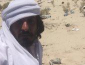 المواطن القطرى زايد بن شافعه الغفرانى المرى العالق على حدود قطر