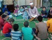 جانب من حلقات تحفيظ القرآن