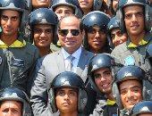 نسور القوات الجوية مع الرئيس عبد الفتاح السيسى