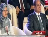 الرئيس السيسى فى افتتاح مؤتمر الشباب