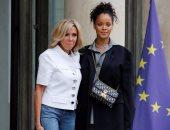 ريهانا و سيدة فرنسا الاولى