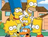 مشهد من The Simpsons