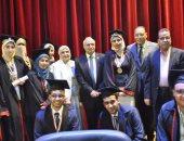 جامعة القناه تحتفل بتخريج الدفعة 27