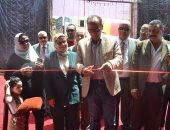 الدكتور هيثم الحاج على رئيس الهيئة العامة للكتاب يفتتح معرض شبين