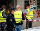 الشرطة الألمانية فى محيط الحادث