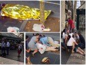جانب من حادث دهس فى برشلونة