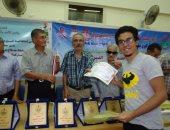 جانب من توزيع الجوائز
