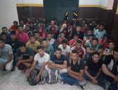 جانب من محاولى الهجرة غير الشرعية بكفر الشيخ