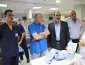 محافظ جنوب سيناء يتفقد مستشفى شرم الشيخ الدولى