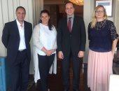 رئيس هيئة تنشيط السياحة مع منظمو الرحلات البولندين
