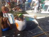 انتشال ضحايا غرق مركب فى نهر بالبرازيل