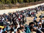 نازحين سوريين - أرشيفية
