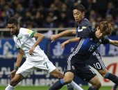 جانب من مباراة سابقة بين السعودية واليابان