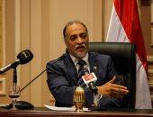 النائب عبد الهادى القصبى رئيس لجنة التضامن الاجتماعى بمجلس النواب