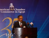 طارق توفيق رئيس غرفة التجارة الأمريكية فى مصر