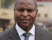 رئيس جمهورية أفريقيا الوسطى  فوستين تواديرا