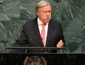 الأمين العام للأمم المتحدة أنطونيو جوتيريس