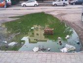 مياه الصرف فى شوارع الغردقة