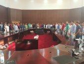 محافظ البحر الأحمر يلتقى بشباب جمعية من أجل مصر