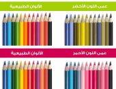 درجات عمى الألوان