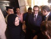 زيارة أعضاء لجنة حقوق الإنسان بقسم شرطة روض الفرج