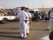 حادث سائق الميكروباص بمطار القاهرة