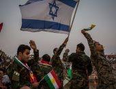 جندى كردى يرفع علم إسرائيل فى أربيل عاصمة إقليم كردستان العراق