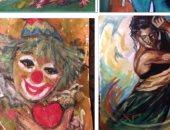 لوحات معرض امنيات
