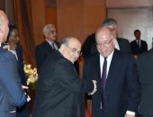 وزير الثقافة  مع الدكتور مصطفى الفقى
