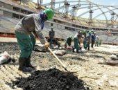 العمال المشاركون فى مشاريع مونديال 2022