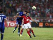 لقطة من مباراة الأهلى والنجم الساحلي بتونس