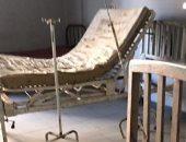 جانب من الإهمال بمستشفى الفيوم العام