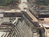 الأعمال الإنشائية لسد النهضة الإثيوبى - أرشيفية