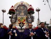 موكب رب المعحزات فى بيرو
