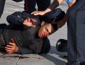 شرطى مصاب فى هندوراس