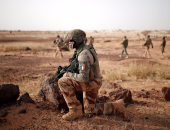 عناصر من الجيش الفرنسى