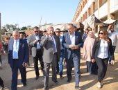 محافظ الإسماعيلية ونائب وزير الإسكان