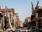 أثار الحرب فى الرقة السورية
