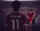 محمد صلاح يتصدر غلاف ليفربول الدعائى لمباراة توتنهام